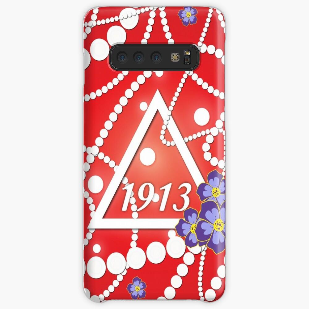 Crimson und Perlen Hüllen & Klebefolien für Samsung Galaxy
