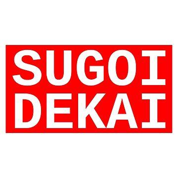 SUGOI DEKAI - Uzaki-chan wa Asobitai! Baseball 3/4 Sleeve by PinPom