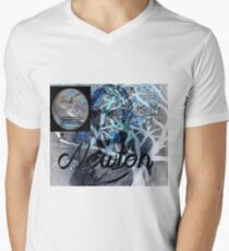 Sir. Isaac Newton Men's V-Neck T-Shirt