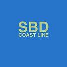 CSX Boxcar SBD (Seaboard) Reporting Marks by CultofAmericana