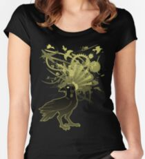 Kamikaze Raven Women's Fitted Scoop T-Shirt