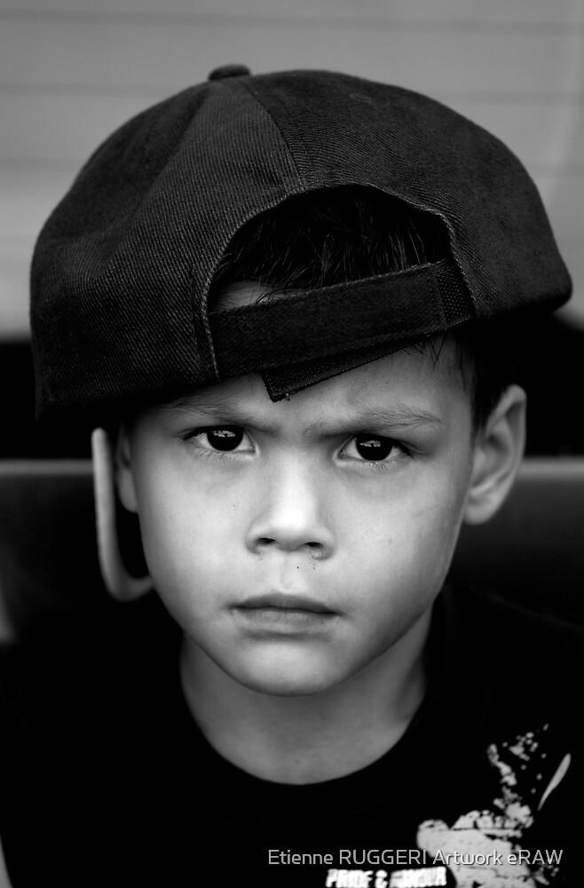 Little bad boy by Etienne RUGGERI Artwork