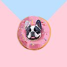 «French Bulldog Donut » de Lostanaw
