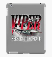 Lockheed Martin F-16 Viper (Fighting Falcon) Keeper of the Peace iPad Case/Skin
