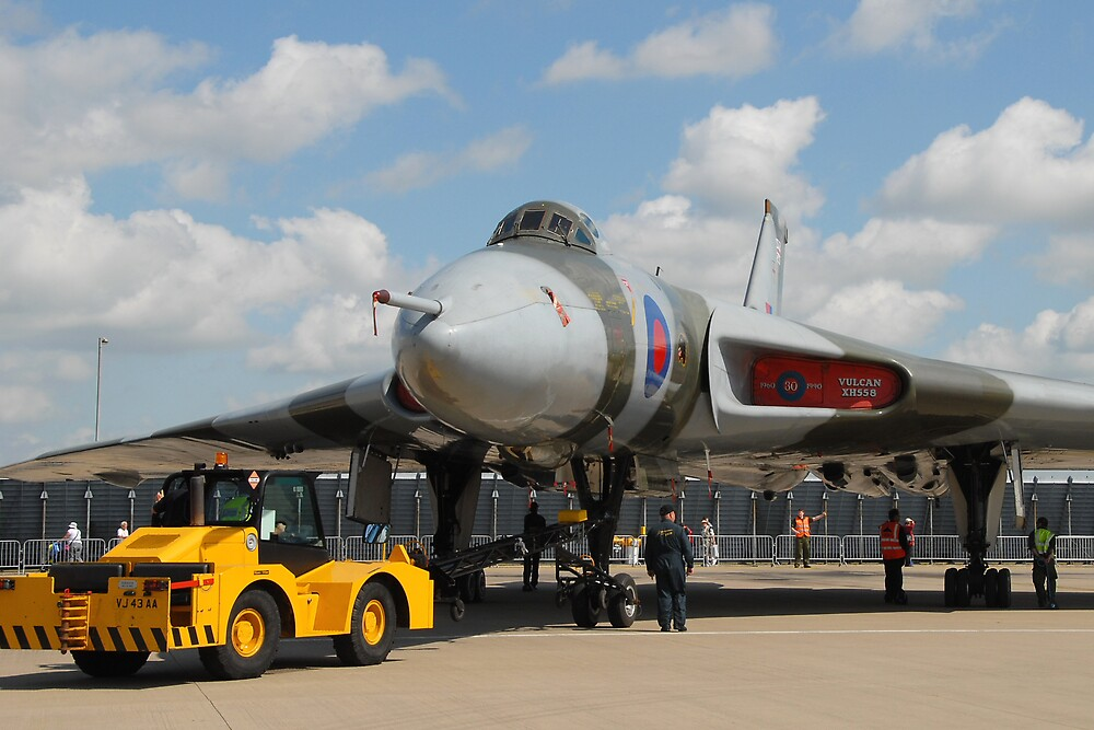 Moving a Vulcan by aerial