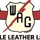 Wellsville, Addison & Galeton (WAG) Railroad - Sole Leather Line/Shield Merch. by CultofAmericana