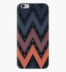 Chevron Weave Roman Ebony iPhone Case