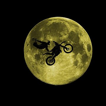 Awesome Freestyle in da moon - Motocross MX  by Kowalski71