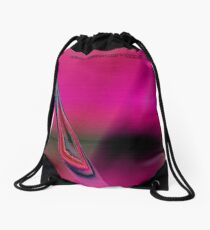fuxart abstract one Drawstring Bag