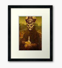 Monalich - Papa Emeritus Crossover Framed Print