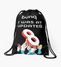 bunq - I was at update 8  Drawstring Bag