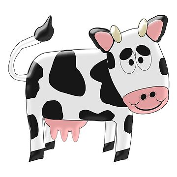 Black And White Cow Design by biglnet