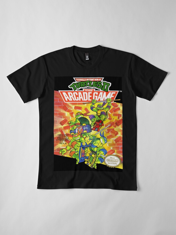 Vista alternativa de Camiseta premium Tmnt - Juego de Arcade