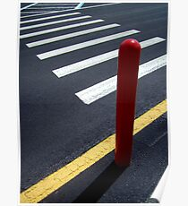 road lines Disney style ... Poster