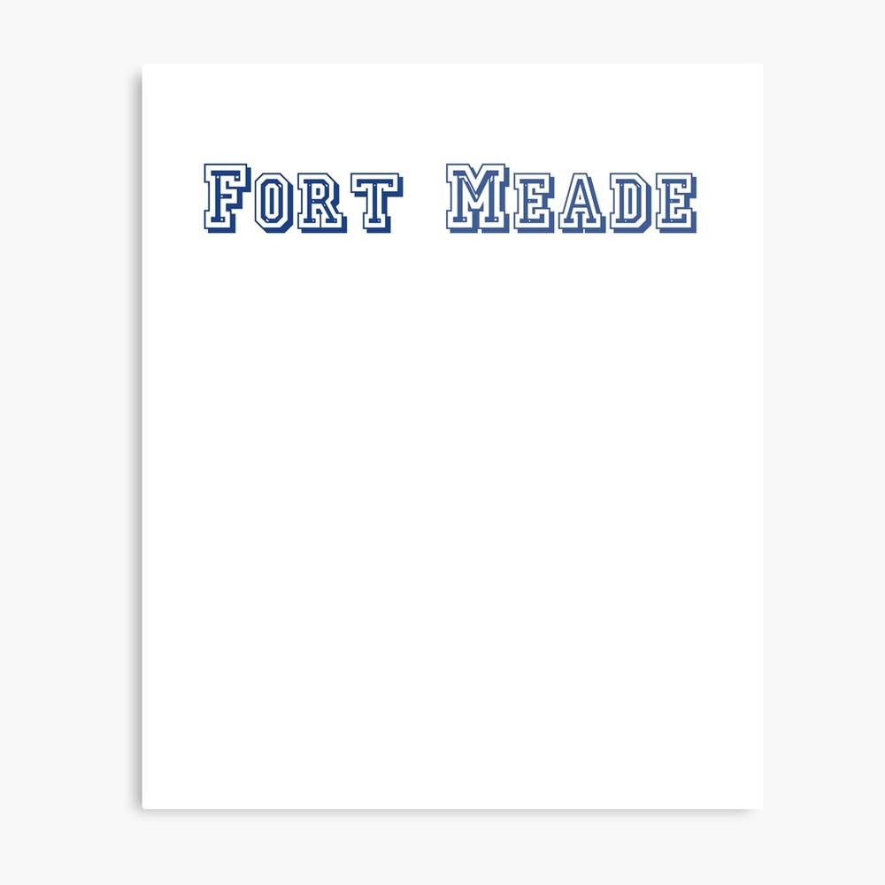 Fort Meade Metal Print