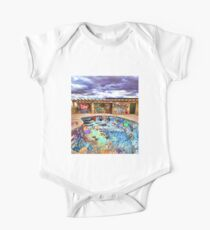 Route 66 Graffiti Pool One Piece - Short Sleeve