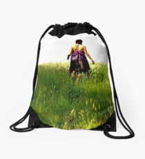 Fashion shoot Drawstring Bag