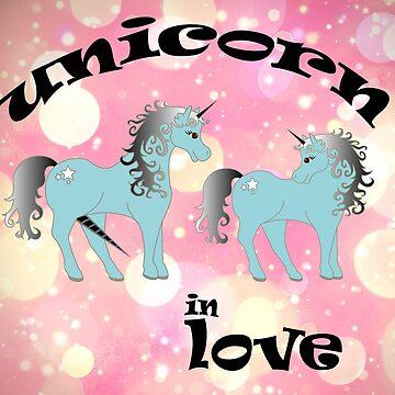 unicorn in love by martin80