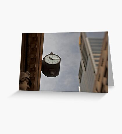 Time Piece - Sydney - Australia Greeting Card