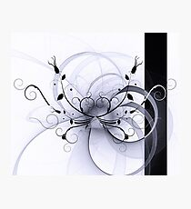 Abstract Floral Design Photographic Print
