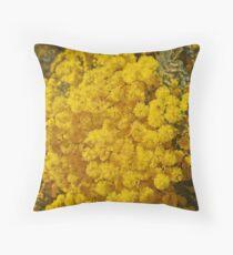 Cootamundra Wattle Throw Pillow