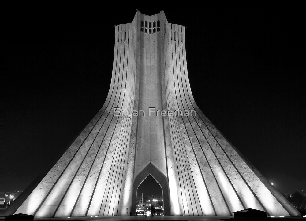 Azadi Tower (Freedom Tower)  Tehran   Iran By Bryan Freeman