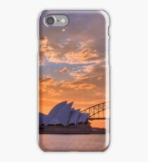Sunset Sydney Harbour - Australia iPhone Case/Skin