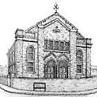 269 - SEION WELSH BAPTIST CHAPEL, PONCIAU - DAVE EDWARDS - INK - 2018 by BLYTHART