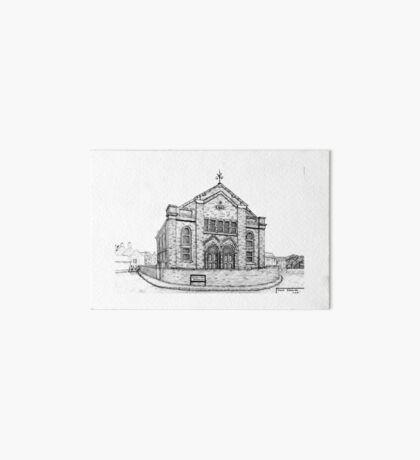 269 - SEION WELSH BAPTIST CHAPEL, PONCIAU - DAVE EDWARDS - INK - 2018 Art Board