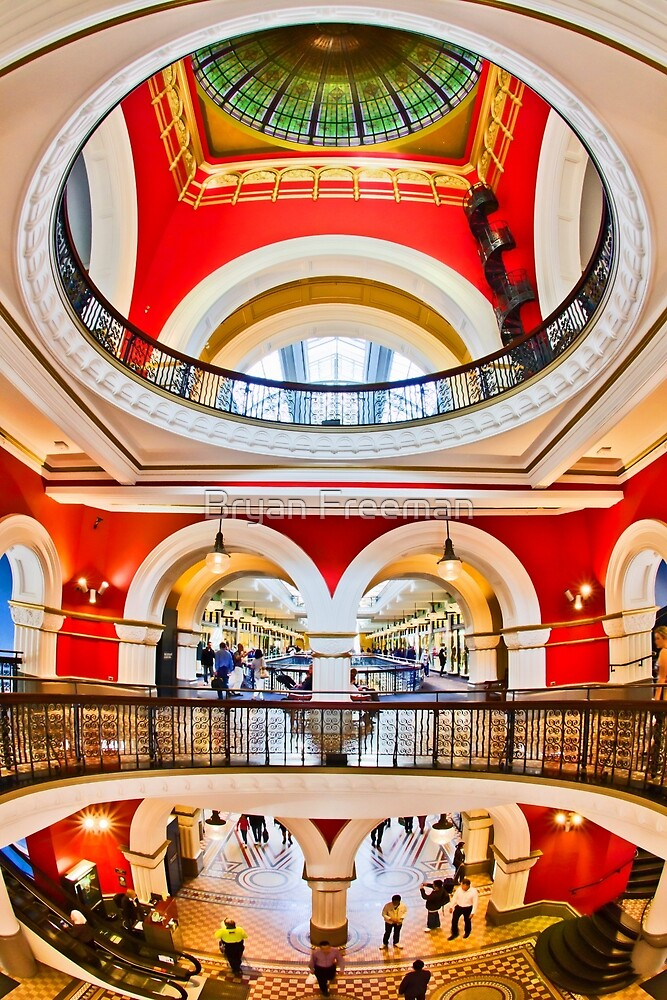 On The Level - Queen Victoria Building - Sydney - Australia by Bryan Freeman