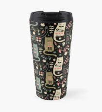 Cat Folk  Travel Mug