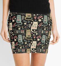 Cat Folk  Mini Skirt
