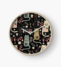 Cat Folk  Clock