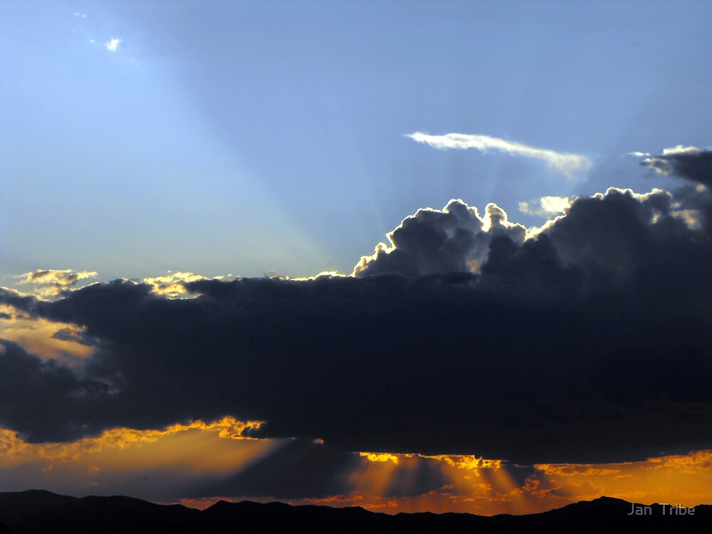 Heavenly Rays by Jan  Tribe