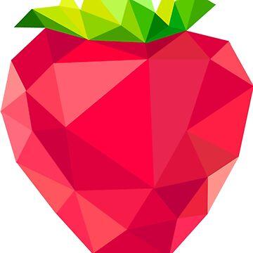 The strawberry by DrTigrou