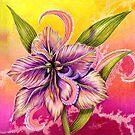 The Paisley Amaryllis by Alma Lee