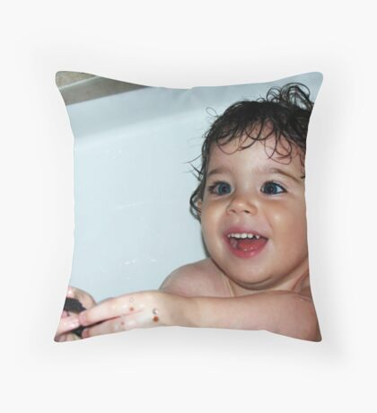 Water Drops!   Throw Pillow