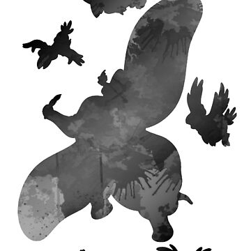Elephant and friends Inspired Silhouette by InspiredShadows