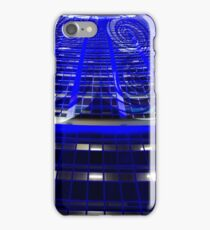 Curled Up & Blue - Vivid Festival - Sydney iPhone Case/Skin