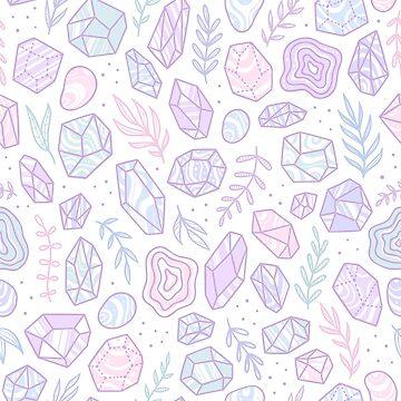 Beautiful crystals by kondratya