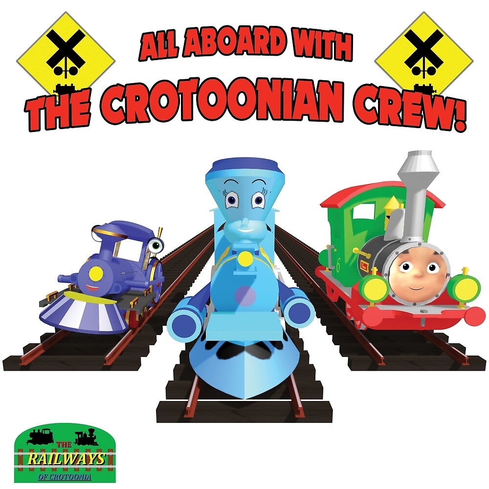 "Crotoonia - ""All Aboard with the Crotoonian Crew!"" by TheMilanTooner"