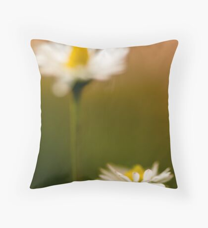Pink tips Throw Pillow