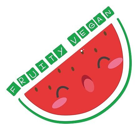 Fruity vegan kawaii fruitarian watermelon by veganstickers