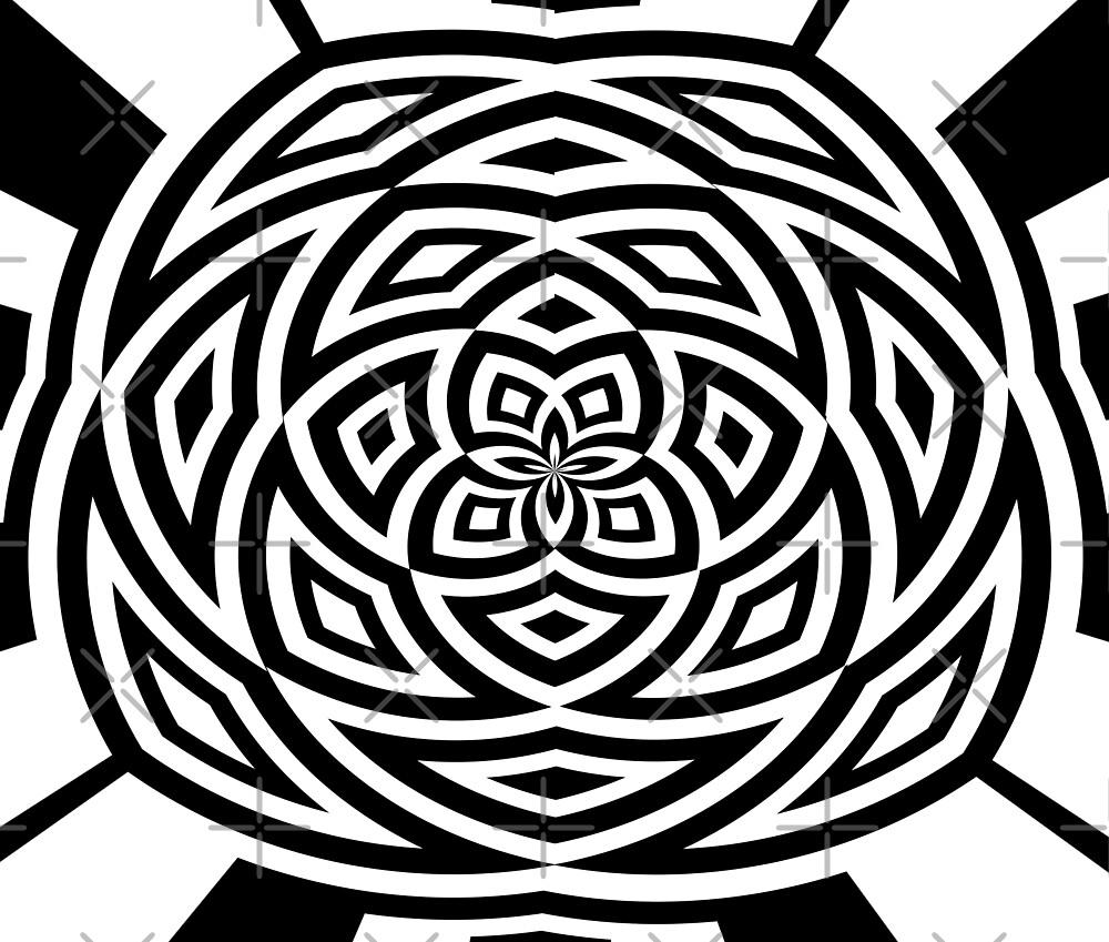 Black Box Spiral by mindsgallery