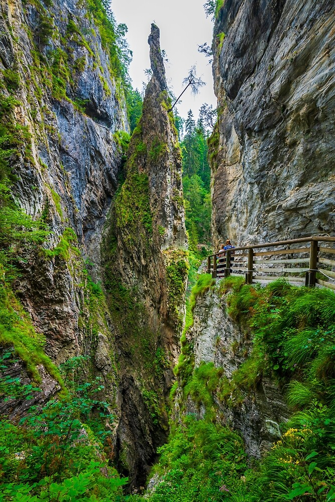 Kitzlochklamm, Austria by PeterCseke
