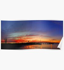 Applecross At Sunset  Poster