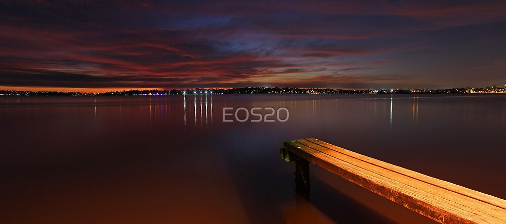 Applecross Jetty At Dusk  by EOS20