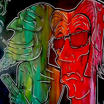 Abstarct Rasta Painting by LemonHaze