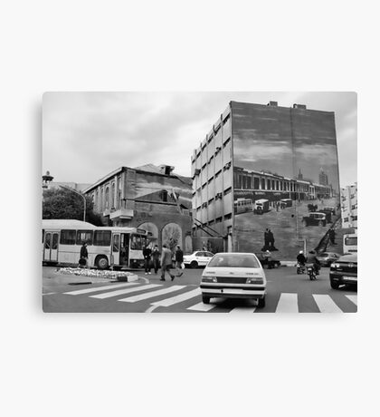 It Could Be Any Street In Any City In The World Canvas Print