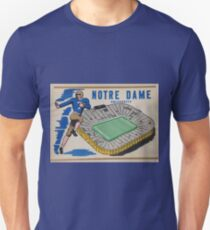 Notre Dame University Football 50s Unisex T-Shirt